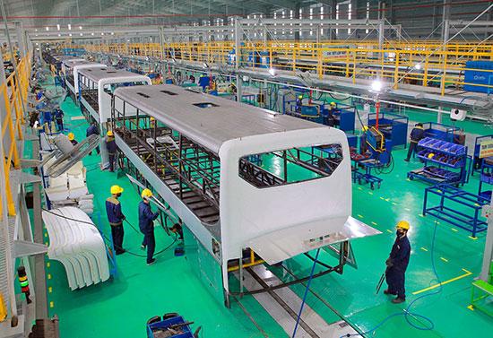 Ngày càng có nhiều doanh nghiệp đầu tư vào Khu kinh tế mở Chu Lai. Ảnh: THÀNH CÔNG