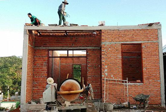 Đang vào mùa cao điểm xây dựng, các gia đình cần chú trọng bảo vệ tài sản tại công trình.