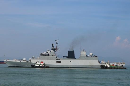 Các tàu chiến Ấn Độ sẽ có buổi diễn tập hàng hải chung với Hải quân Việt Nam