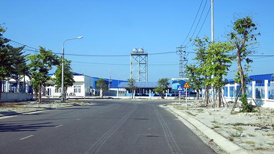 Hạ tầng các khu công nghiệp được Cizidco đầu tư hoàn chỉnh. Ảnh: N.PHONG
