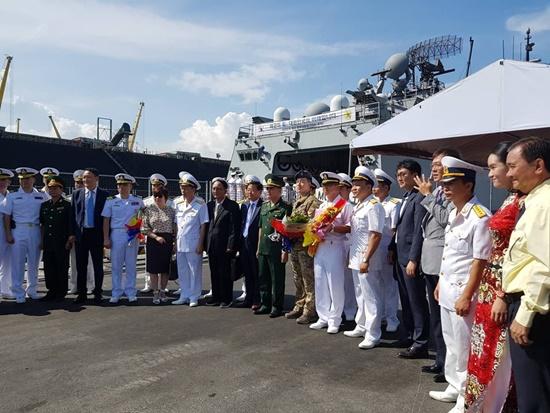 Chuyến thăm nhằm gắn kết hơn mối quan hệ hợp tác hải quân của hai nước