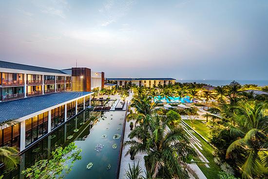Khách sạn Sunrise liên quan đến việc thi hành án tại Công ty IOC sẽ bị kê biên trong thời gian tới. Ảnh: internet
