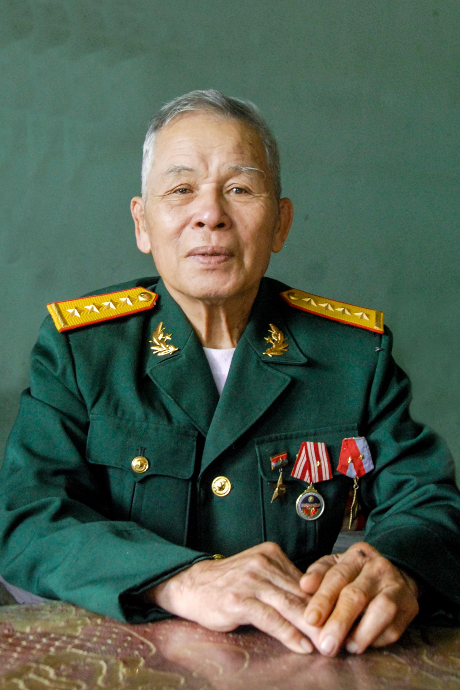 Anh hùng LLVT Nhân dân Trương Văn Hòa. Ảnh: HỒ QUÂN