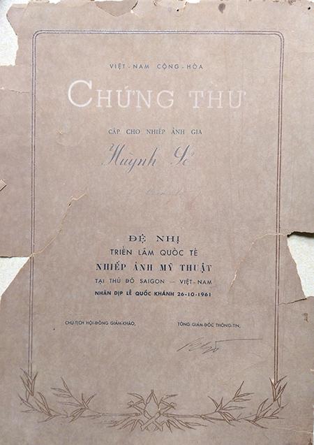 Ảnh từ sưu tập gia đình ông Huỳnh Nam Sinh