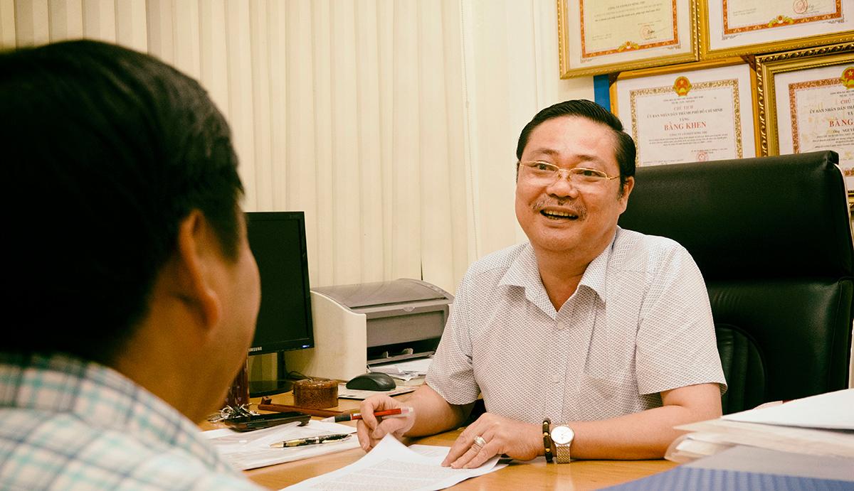 Ông Tuấn cho rằng thành công của mình ngày hôm nay còn có sự chung sức, đoàn kết của toàn thể anh chị em trong công ty.