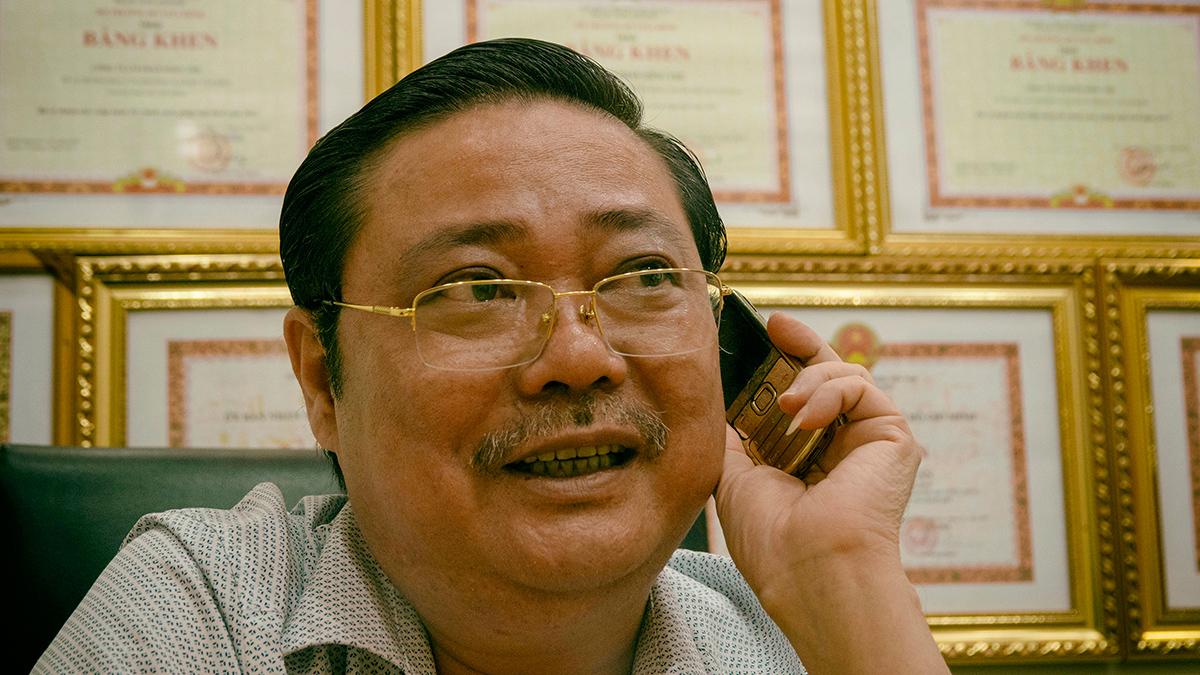 Ông Tuấn luôn nỗ lực gắn kết tình đồng hương nơi xa quê.