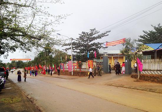 Diện mạo mới trên quê hương Tiên Sơn.