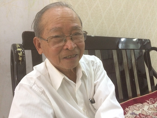 Nụ cười ở tuổi 93. Ảnh: H.V