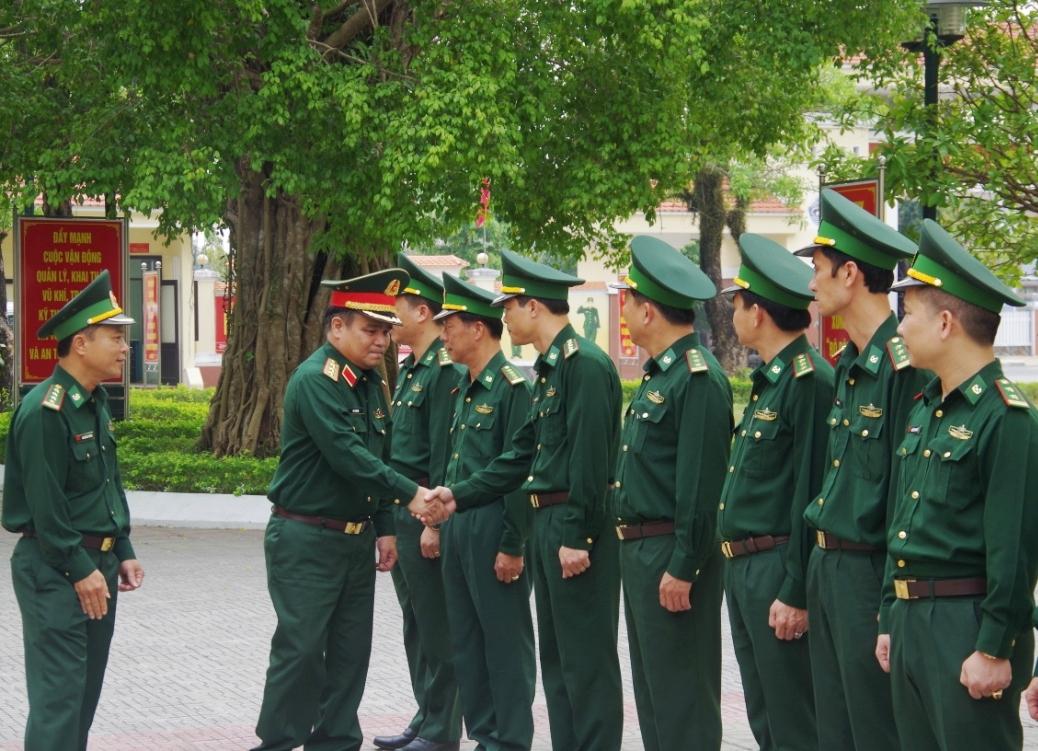 Thượng tướng Lê Chiêm đến thăm, làm việc tại Bộ Chỉ huy BĐBP tỉnh Quảng Nam