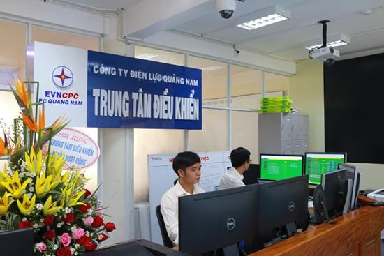 Trung tâm ĐKTX điều hành hệ thống SCADA/DMS, một giải pháp chiến lược của PC Quảng Nam nhằm hiện đại hóa lưới điện, bước cơ bản để điều khiển thiết bị điện từ xa.