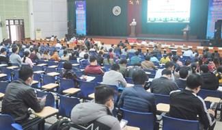 Hội đồng thi tuyển công chức tỉnh khai mạc kỳ thi tuyển công chức năm 2020. Ảnh: N.Đ