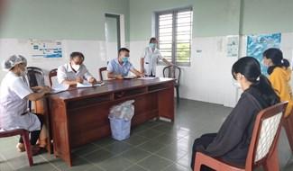 Ngành y tế Thăng Bình đã thực hiện truy vết các trường hợp F1, F2