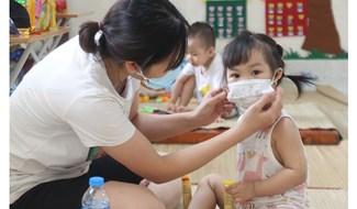 trẻ em phải đi cách ly tập trung tại Trường mầm non Lê Lợi, Bắc Giang (Ảnh minh họa: Tuyết Mai).