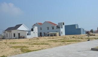 Một góc hạ tầng khu tái định cư xã Duy Hải giai đoạn 1. Ảnh: Hữu Phúc